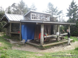 Mt LeConte Shelter