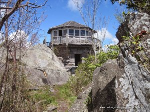 Mt Cammerer fire lookout