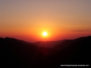 Sunset from Newfound Gap Road