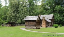 Wood Shed, Meat House & Davis House - Mountain Farm Museum