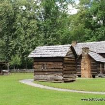 Wood Shed, Meat House & Davis House - Mountain Farm Museum