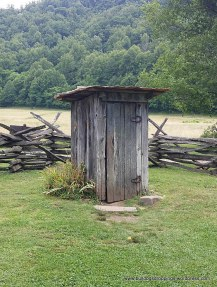 Outhouse - Mountain Farm Museum