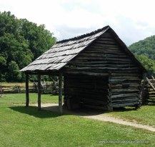 Corn Crib and Gear Shed - Mountain Farm Museum
